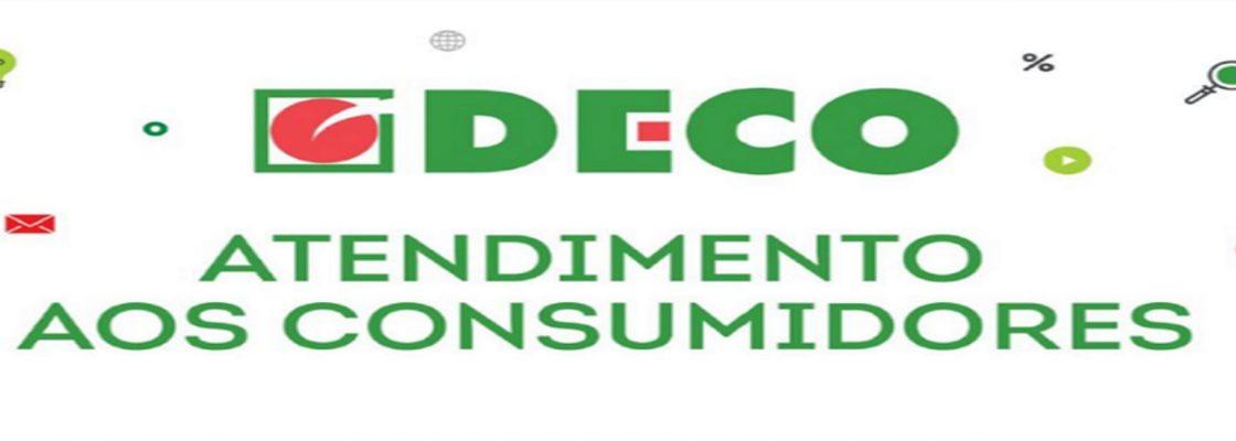 DECO – Atendimento ao Consumidor – Via online ou por telefone