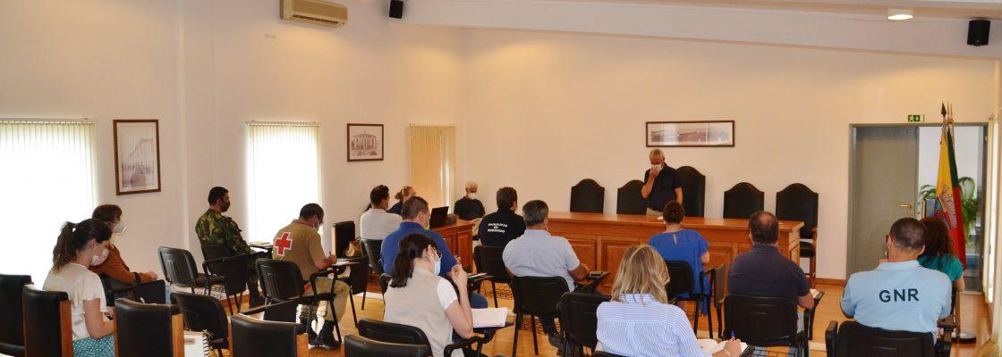 Reunião PROTEÇÃO CIVIL COVID1