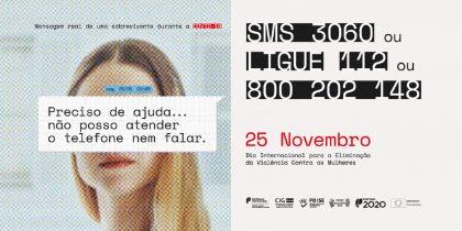 Hoje assinala-se o Dia Internacional pela Eliminação da Violência Contra as Mulheres