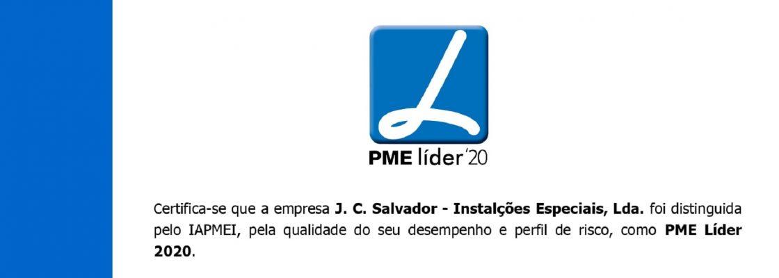 JC Salvador volta a ser distinguida como PME Líder