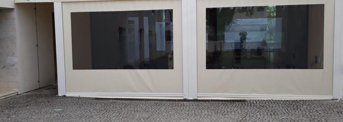 Câmara Municipal de Redondo cria espaço coberto junto ao Centro de Saúde para proteger utentes...