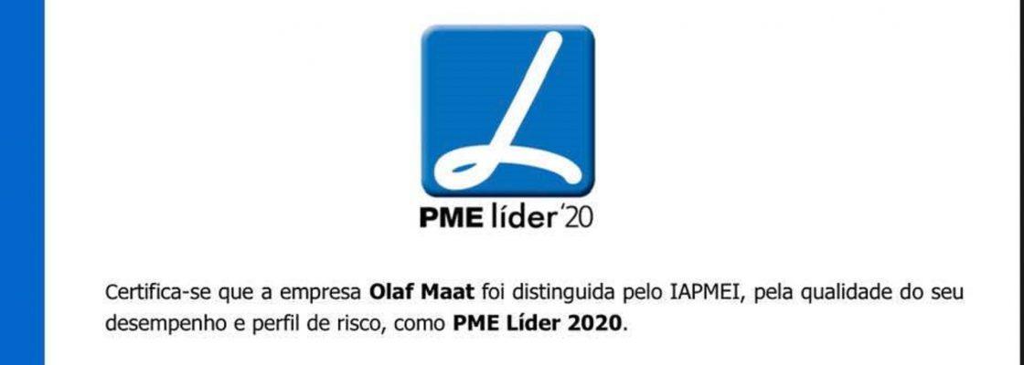 Olaf Maat distinguida como PME Líder 2020