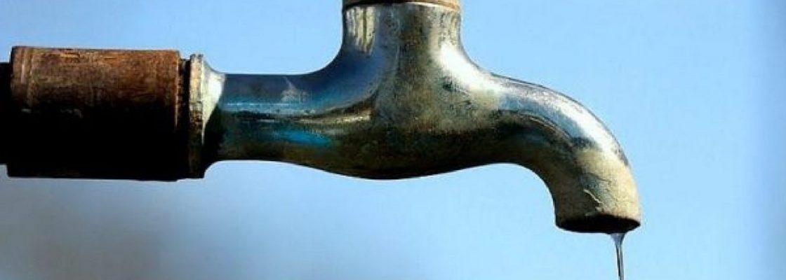 Aviso: Corte de água no dia 15 de janeiro de 2021