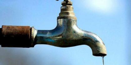 Aviso – Corte no abastecimento de água