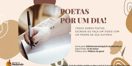 Lançamos o desafio: Junte-se a nós para assinalar o Dia Mundial da Poesia – 21 de março
