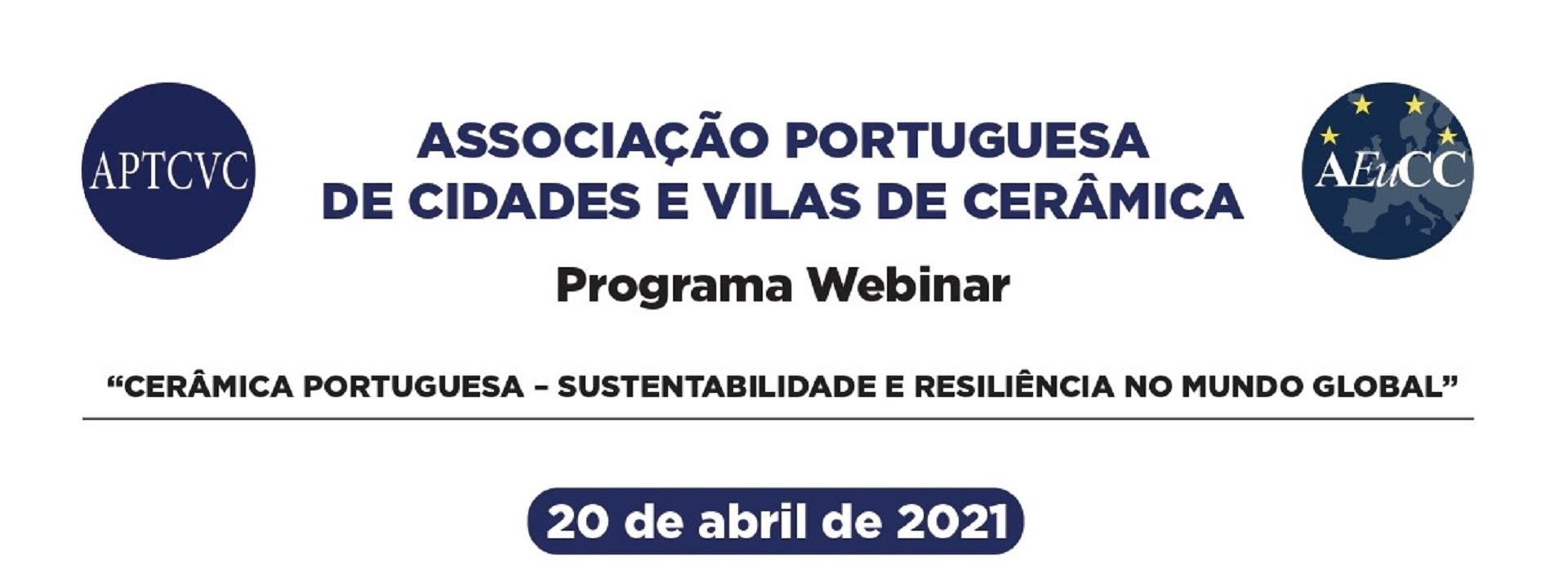 Cidades e Vilas Cerâmicas portuguesas comemoram o 3º aniversário com webinar