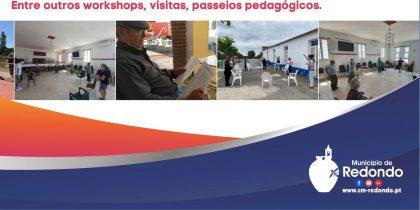 Venha conhecer o Polo de Redondo da UPTE | 12 de junho | Jardim Municipal de Redondo | das 10h00 às 12h30