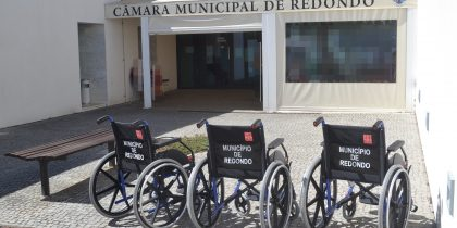 Cedência de equipamento ao Centro de Saúde de Redondo
