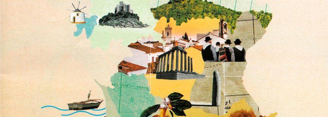"""Exposição """"Viagem por terras de Portugal""""   04 a 31 de agosto   Biblioteca Municipa..."""