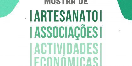 Mostra de Artesanato   14 e 15 de agosto   Praça da República   Redondo 10h – 22h