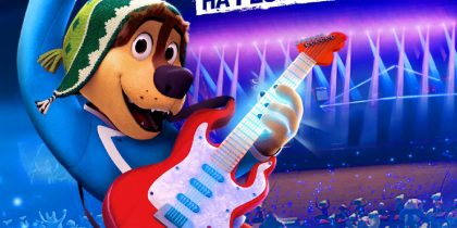 MATINÉ INFANTIL: Rock Dog 2 – Há Festa no Parque